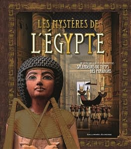 Les mystères de l'Egypte de Stella Caldwell chez Gallimard jeunesse, à 19.95€