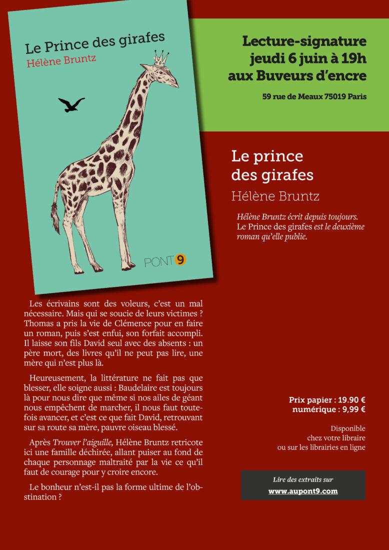 JEUDI 06/06 RENCONTRE-DÉDICACE AVEC HÉLÈNE BRUNTZ
