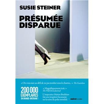 PRÉSUMÉE DISPARUE – Susie Steiner
