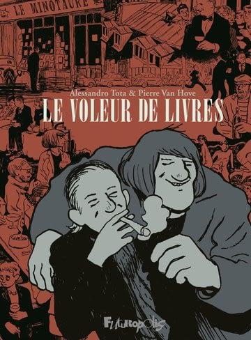 LE VOLEUR DE LIVRES – A. Tota & P. Van Hove