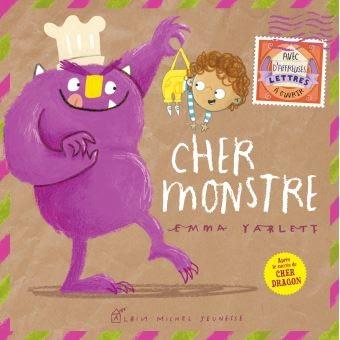 CHER MONSTRE  –  Emma Yarlett
