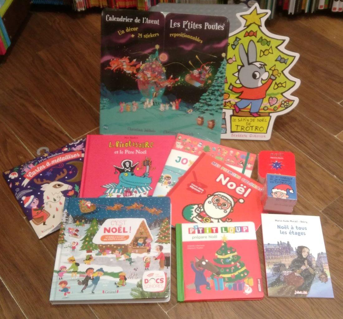 Les livres de Noël sont là!