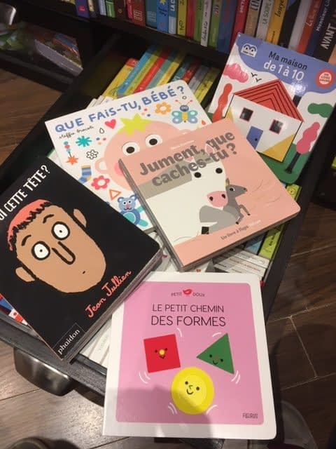 Des livres pour les tout-petits !