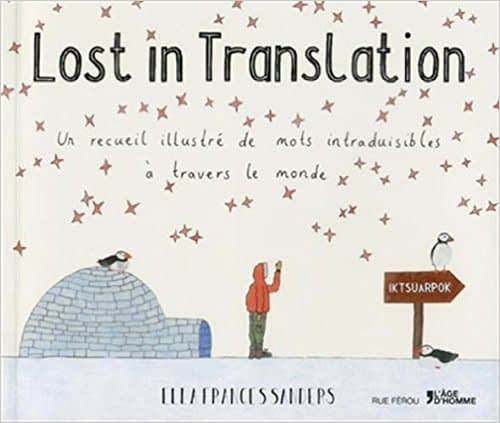 LOST IN TRANSLATION – ELLA FRANCES SANDERS